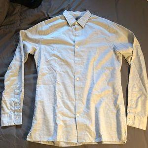 Vince Gray Button Down Shirt